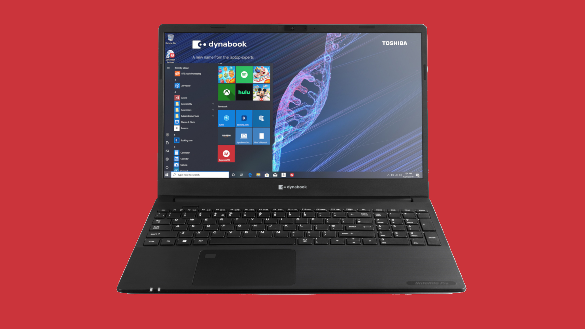 ExpressVPN will now come pre-installed on all Dynabook laptops