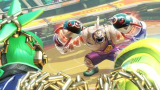 """Arms review: """"An invigorating blend of graceful movement and slapstick violence"""""""