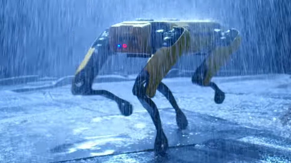 Boston Dynamics' uncanny robot 'dog' Spot is now strutting into workplaces