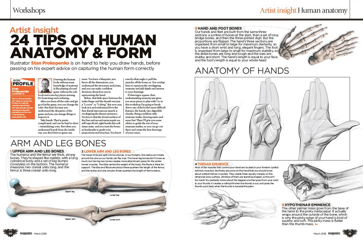 Improve your anatomy art with ImagineFX issue 158 – Graphic Design ...