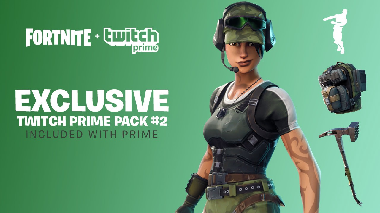 Twitch Prime members getting more free Fortnite loot