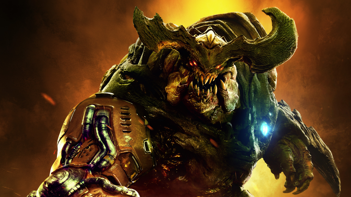 Doom deathmatch and private matches will go live later this month | PC Gamer