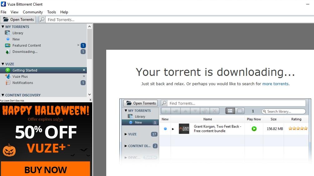 Download Vuze free