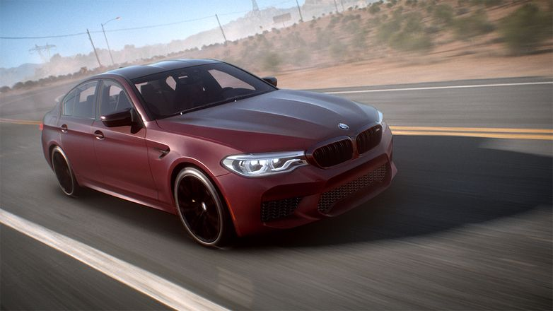 Need for Speed Payback trailer shows off the 2018 BMW M5