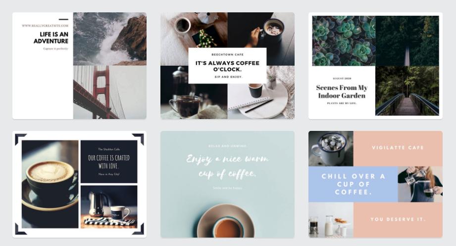 Collage maker: Canva