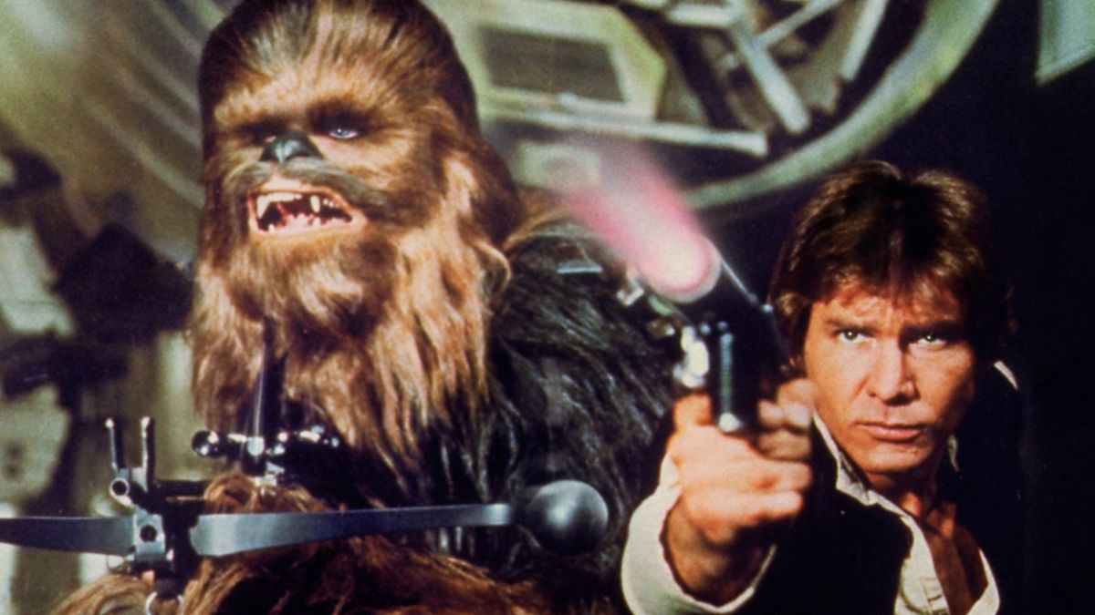 Aarrr wgh ggwaaah! That's Wookiee speak for 'check out this set pic of the Han Solo movie'