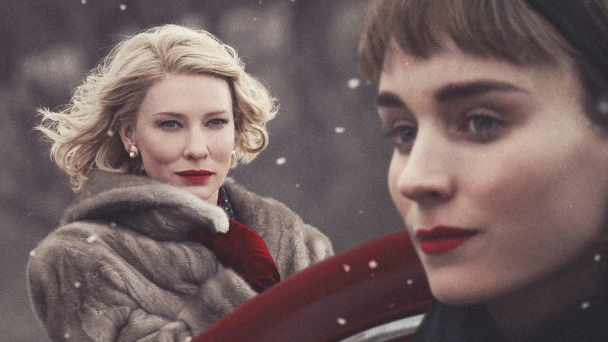 A still from the movie Carol