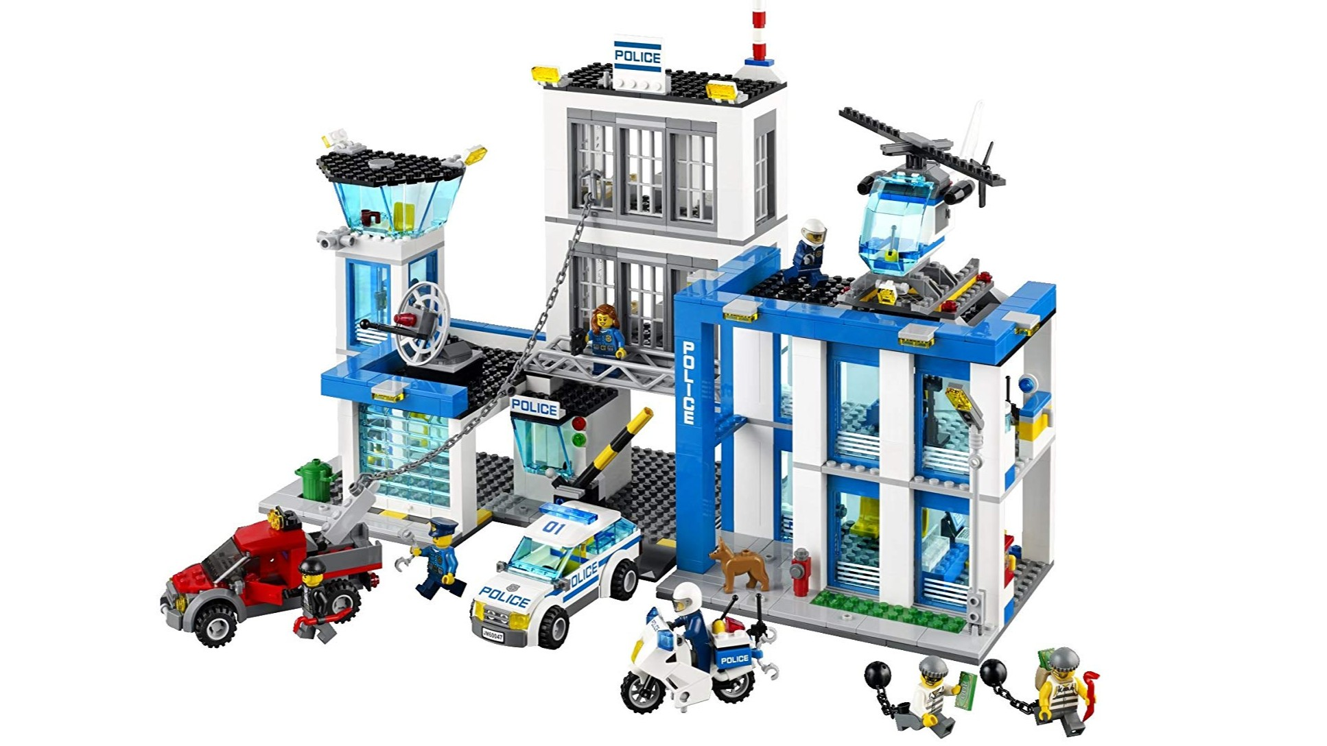 Best Lego City sets: Police station