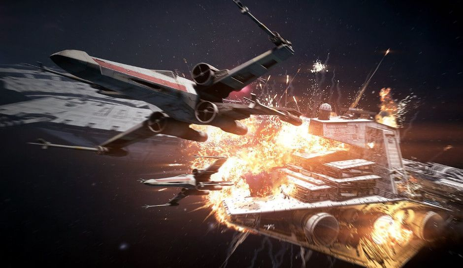 Star Wars Battlefront 2 trailer shows off Starfighter Assault battles