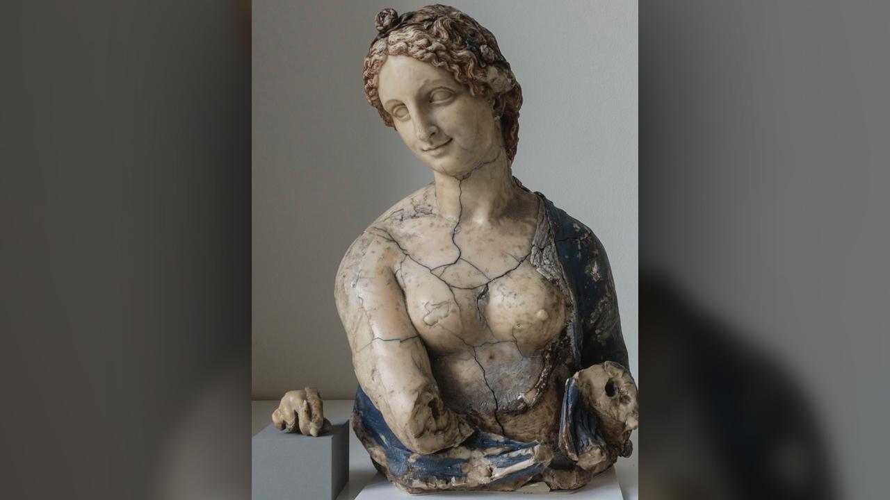 Leonardo da Vinci didn't carve the infamous 'Flora' bust, consultants discover pjrHy5KSj7czVLX5jEX9cS