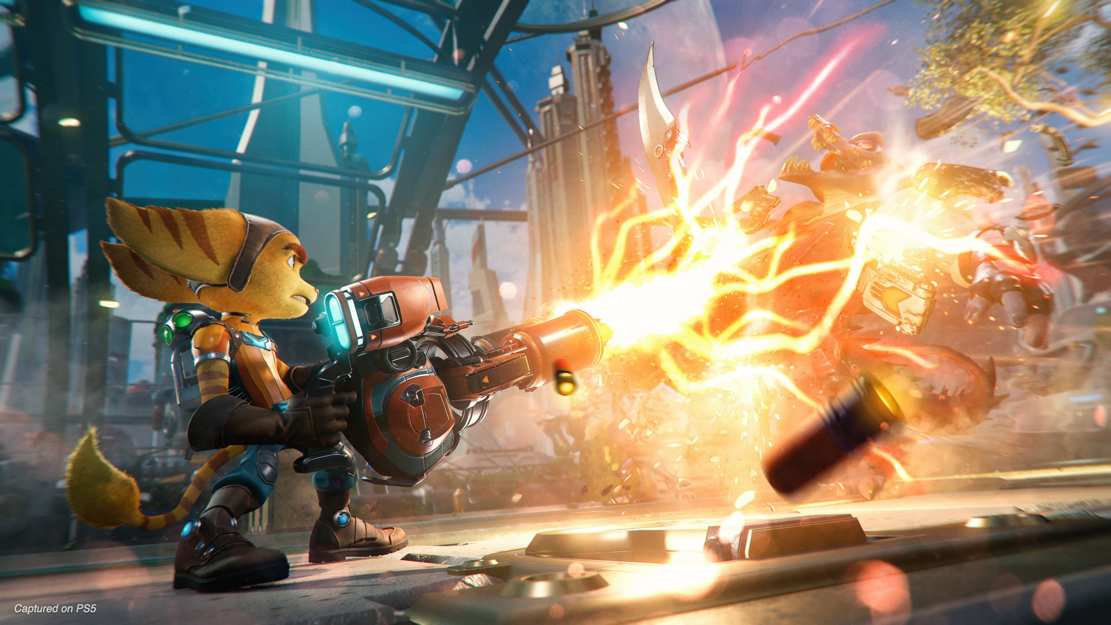 Ratchet Clank Rift Apart Gameplay Story Release Date And More Laptop Mag