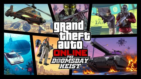 GTA Online's Doomsday Heists Lets Players Enter Mount Chilliad (With Jetpacks)