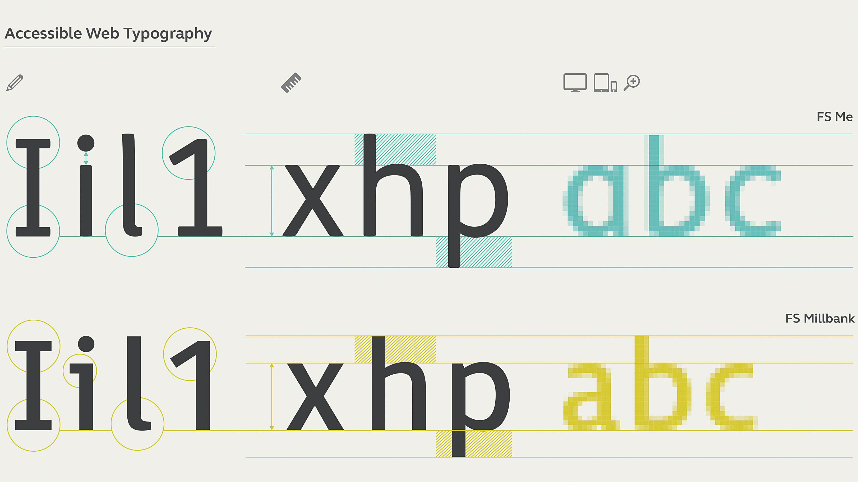 Get to grips with accessible web typography