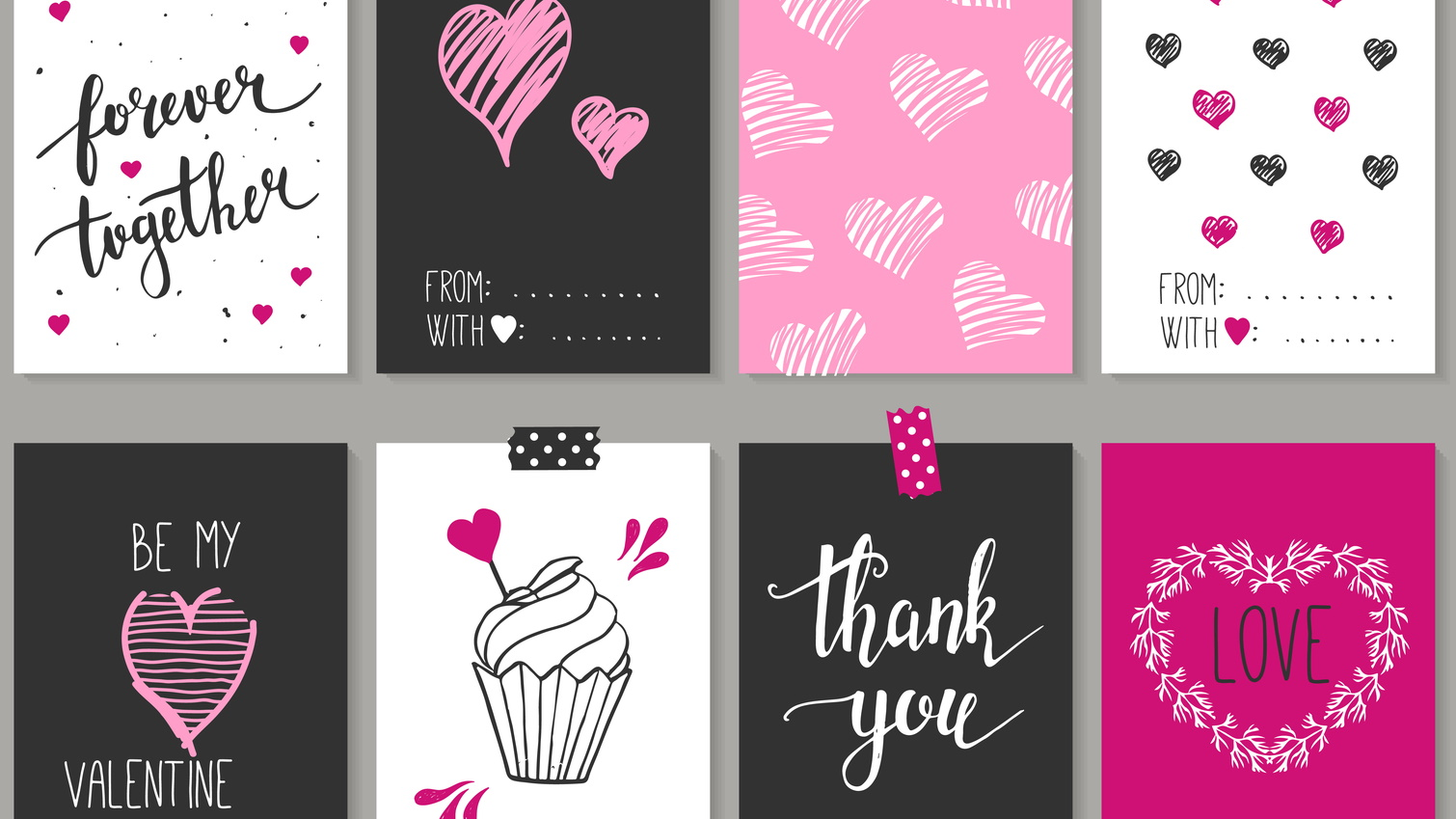 How to make a Valentine's Day card the easy way with a photo card provider