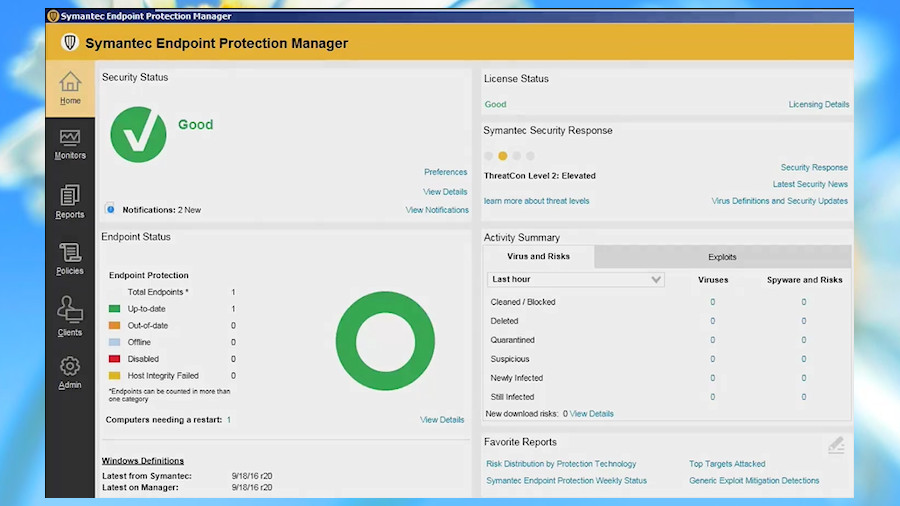 avast business security console