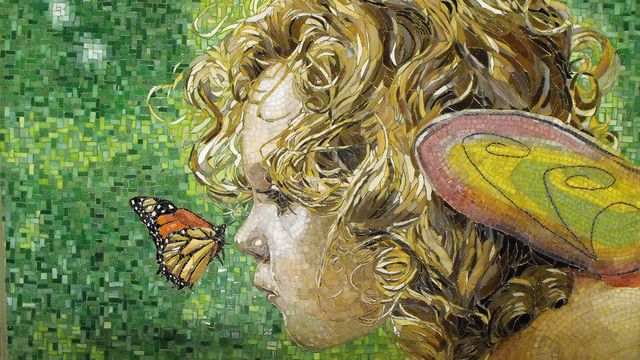 12 stunning examples of mosaic art creative bloq for Mosaic painting meaning
