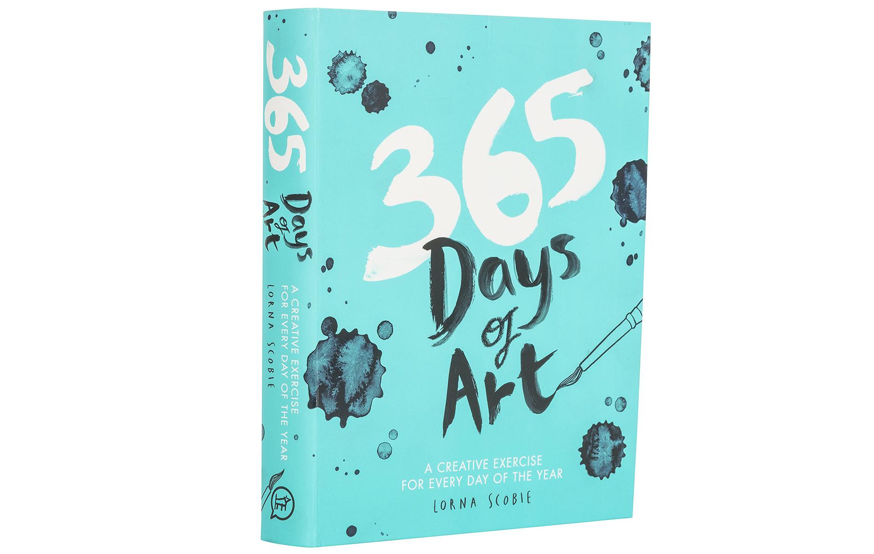 Illustrator books: 365 Days of Art