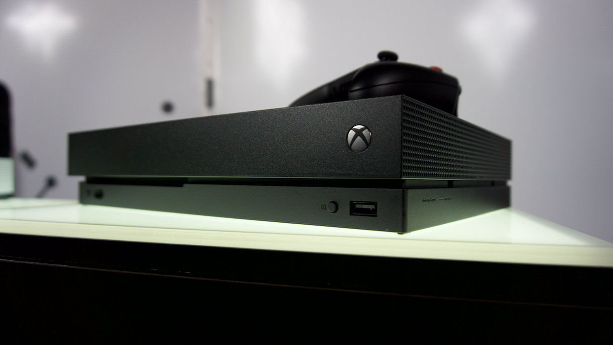 Xbox One X pre-order details will be revealed this weekend