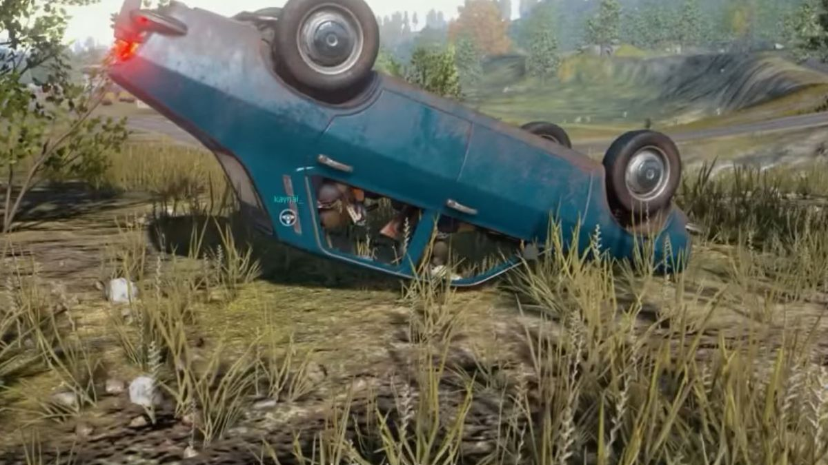 Playerunknown S Battlegrounds 8 Best Loot Hunting: Hiding In Overturned Cars Has Become An Amazing Strategy