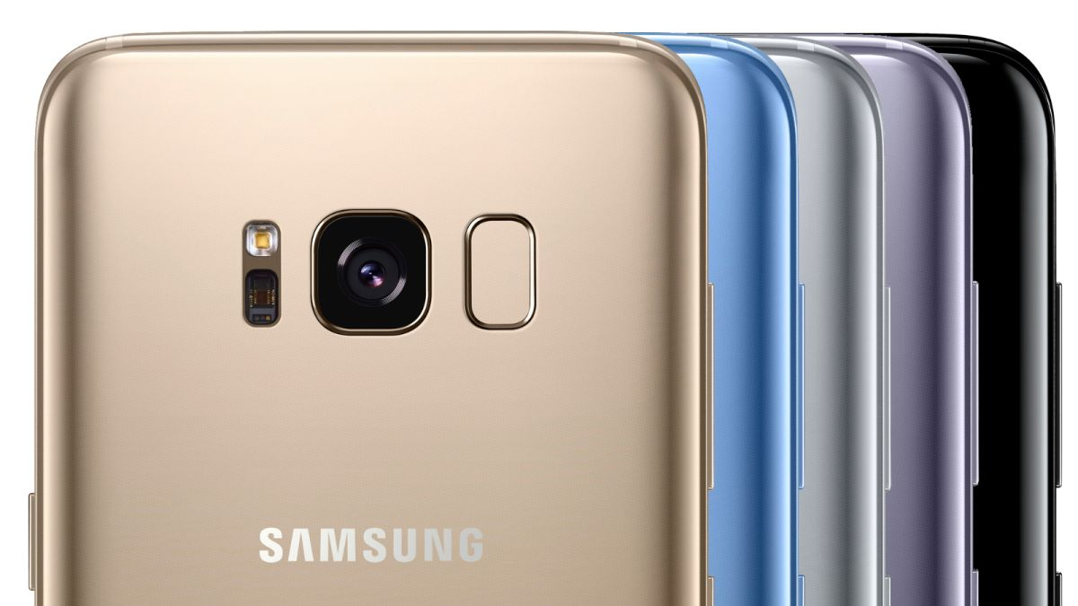 samsung galaxy s8 colors all of the options available