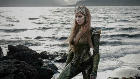 'Justice League' reveals first look at Amber Heard as Mera