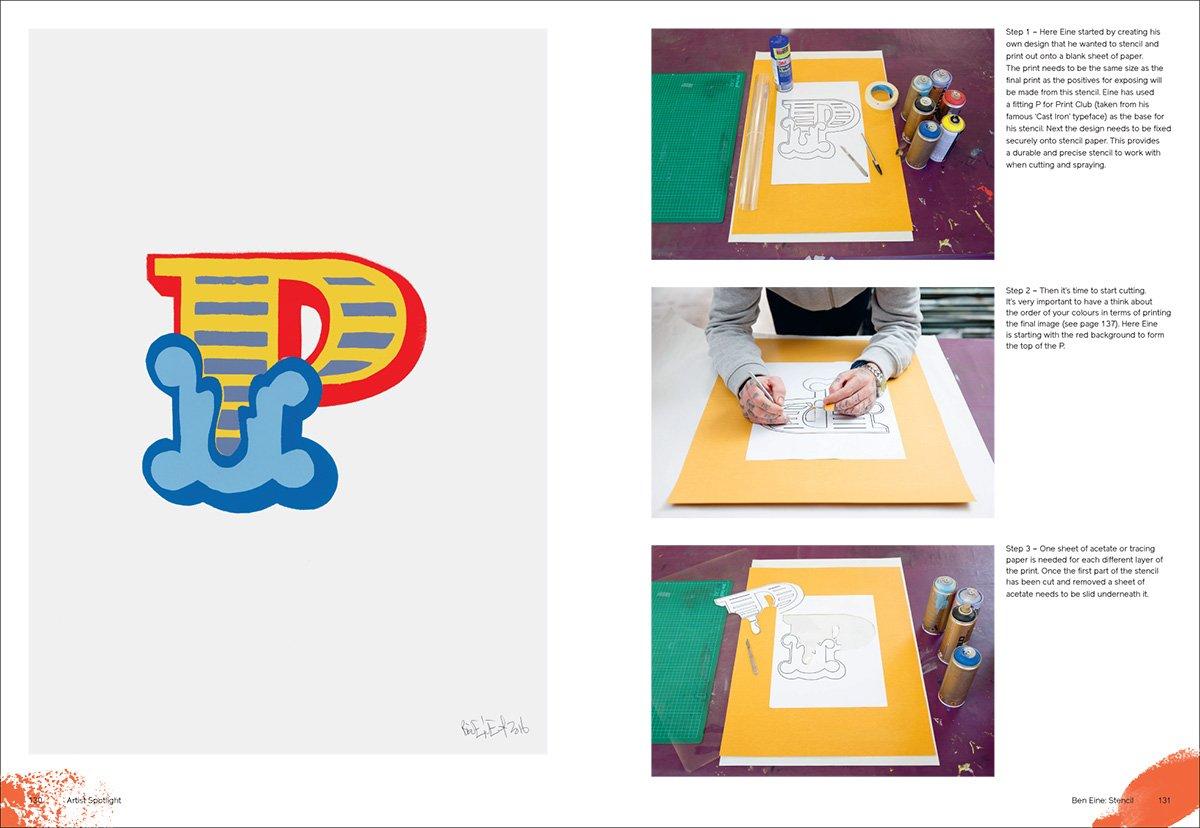Stencil screen printing tutorial