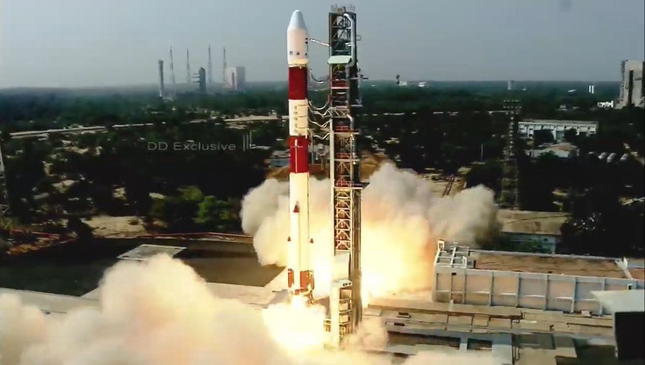 India launches Brazil's Amazonia-1 Earth observation satellite and 18 others into orbit