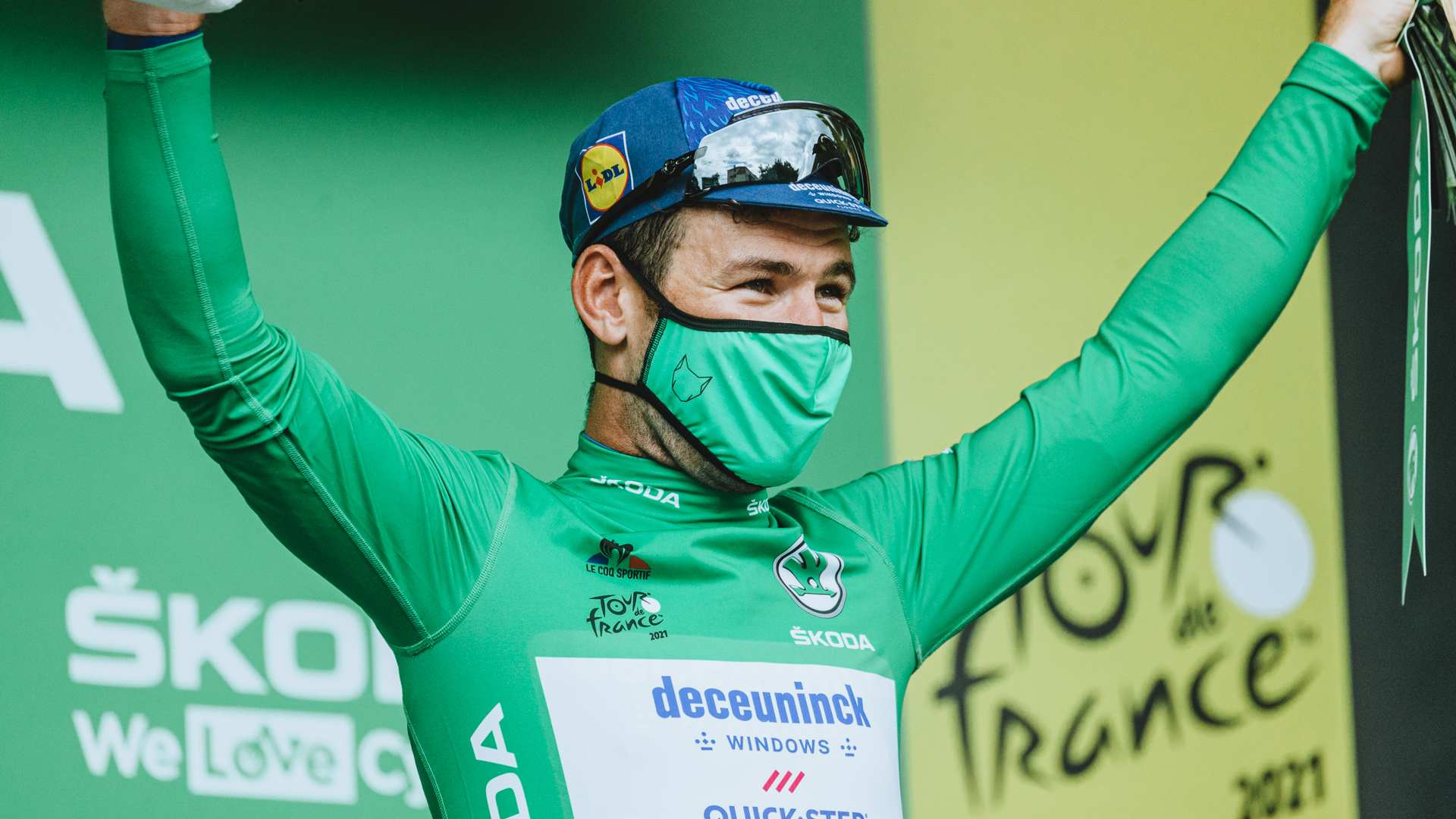Tour De France Sprinter Green Cycling Cap Le Coq Sportif Brand New NOS
