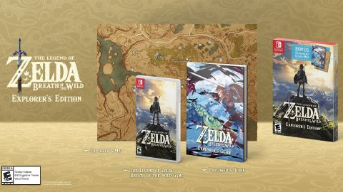 Zelda 2DS Bundle, Breath of the Wild Explorer's Edition Announced