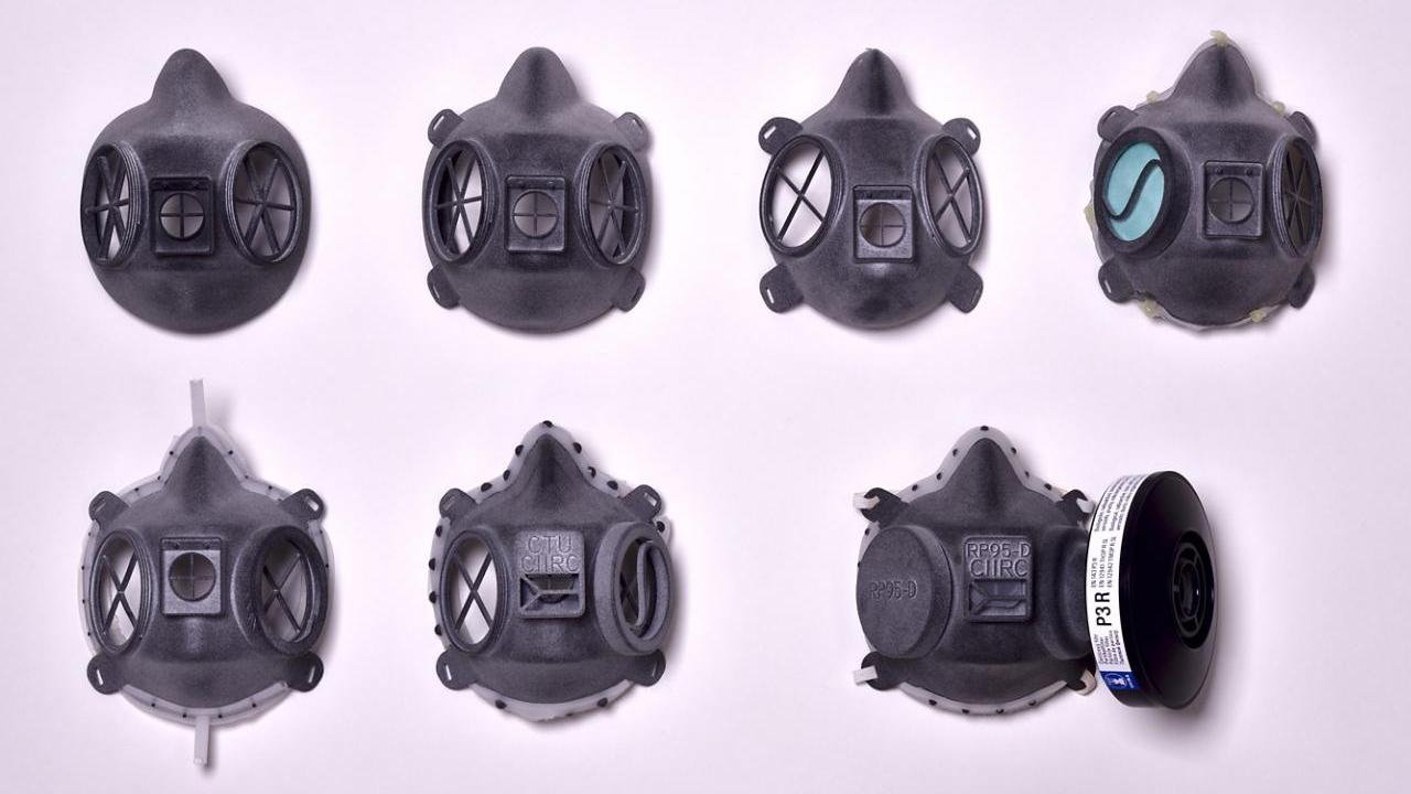 HP 3D Printing Covid-19
