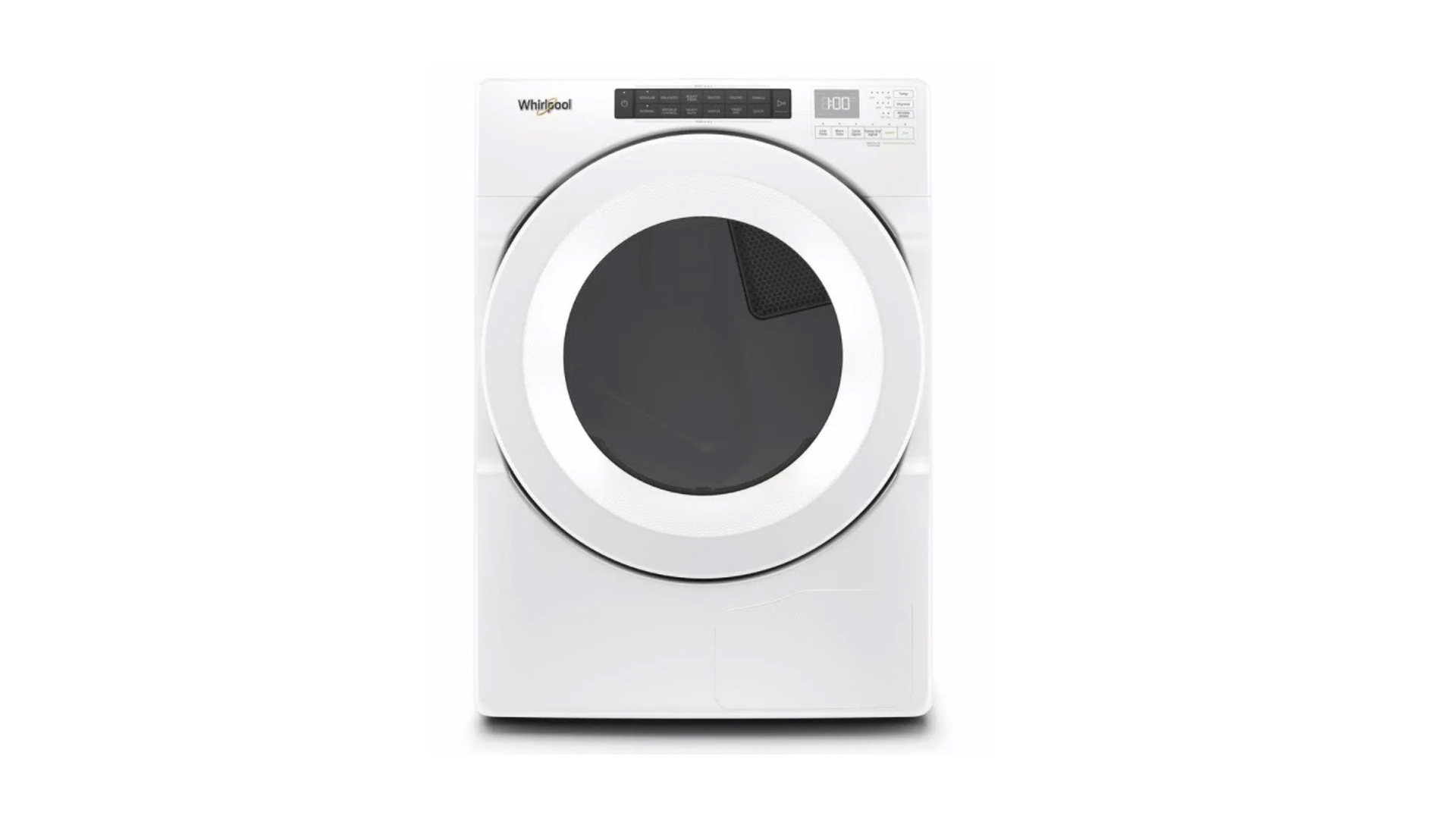 Whirlpool WHD560CHW dryer review