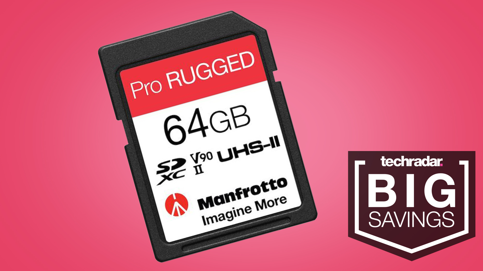 SD card bargain alert: get 50% off these new waterproof Manfrotto memory cards