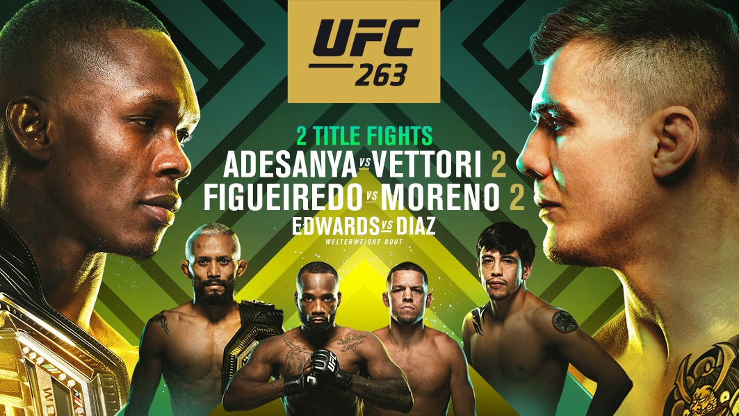 UFC 263 live stream: how to watch Israel Adesanya vs Marvin Vettori 2 PPV  for free tonight | What Hi-Fi?