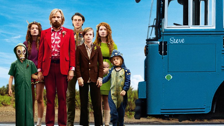 A still from the movie Captain Fantastic