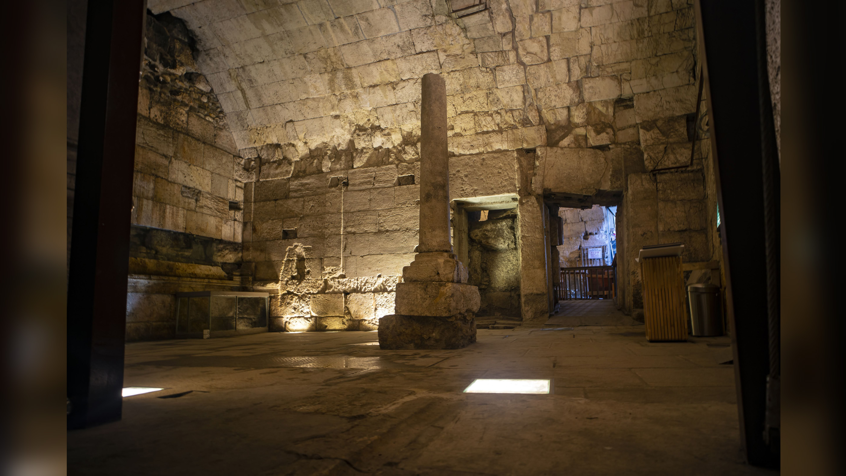 Magnificent Roman-era building unearthed under Israel's Western Wall