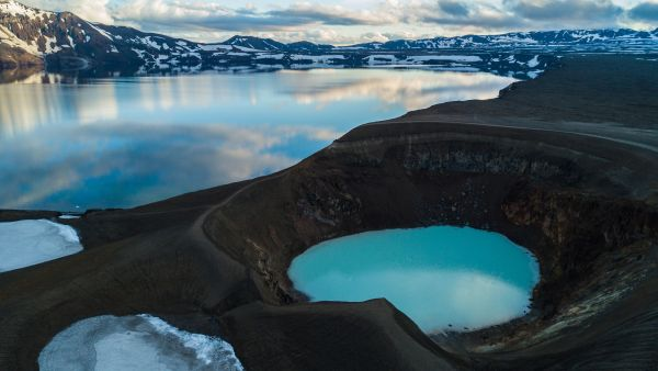 Iceland may be the tip of a sunken continent