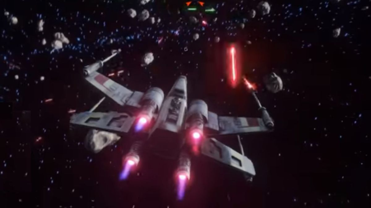 Want another Rogue Squadron or X-Wing game? This 2016 prototype makes the wait even worse
