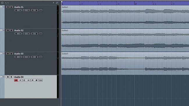 Paso 1 4 tracks