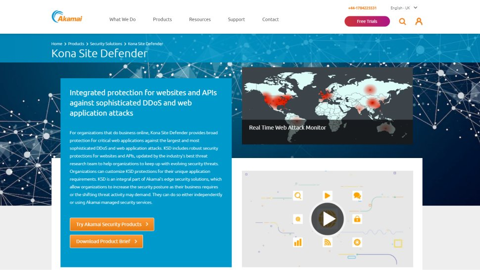Akamai Kona Site Defender - Double up your protection with Akamai's firewall and DDoS circumvention