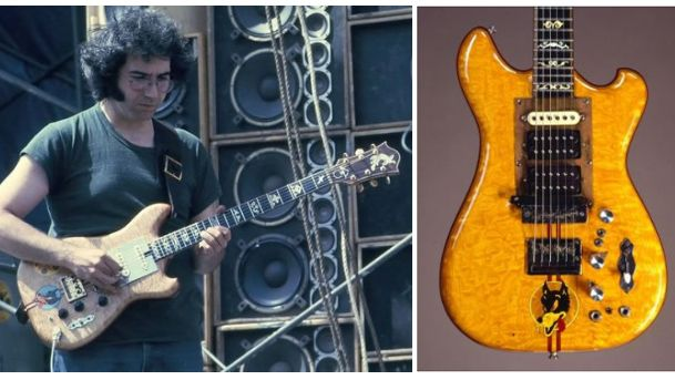 jerry garcia 39 s 39 wolf 39 guitar up for auction musicradar. Black Bedroom Furniture Sets. Home Design Ideas