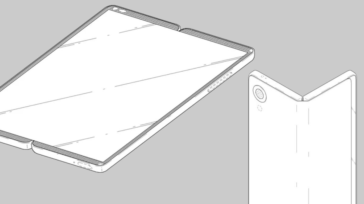 Could this be our first look at LG's foldable phone?