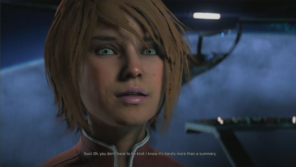 Mass Effect: Andromeda contains over 1,200 speaking characters