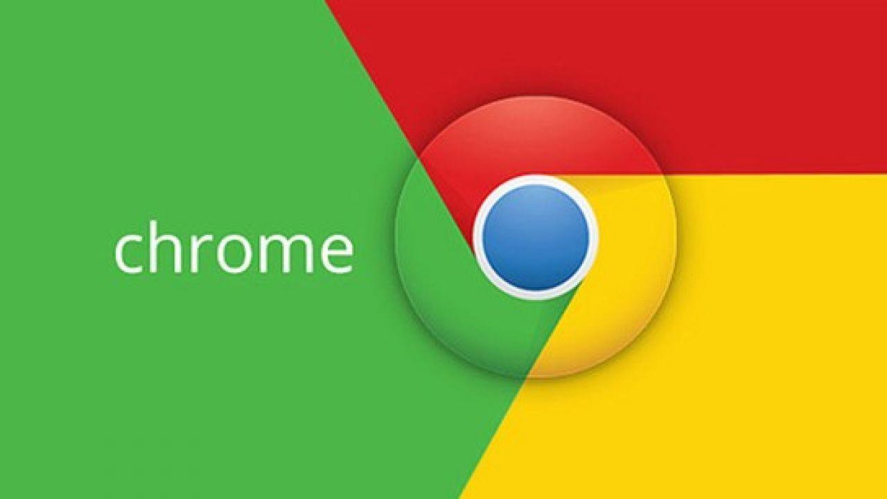 A photo of the Google Chrome logo