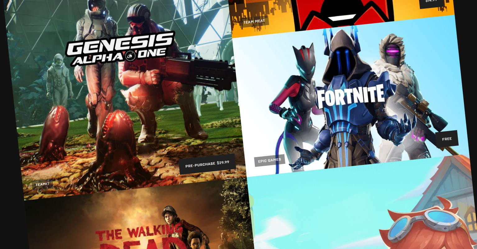 Epic Games Store extends weekly game giveaways to the end of the