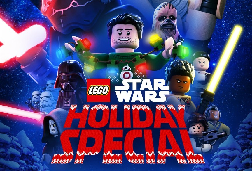 The 'Lego Star Wars Holiday Special' is coming to Disney Plus this month