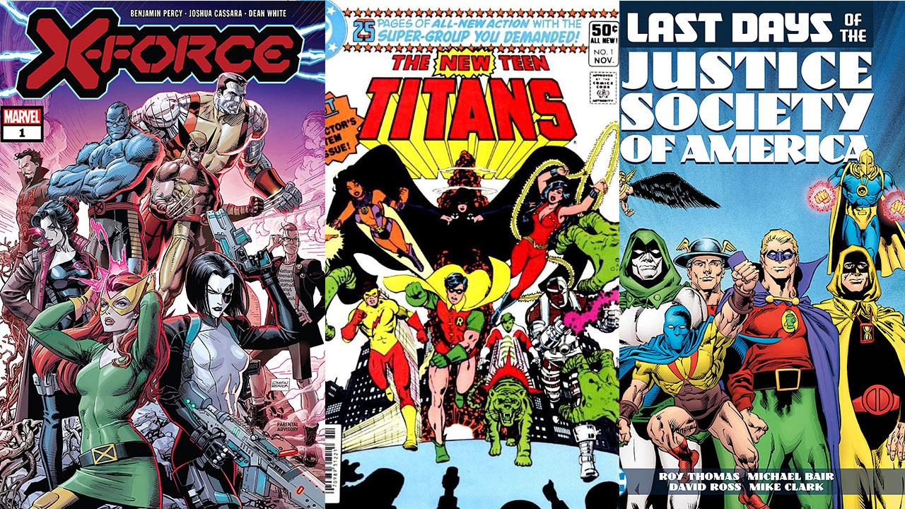 10 Best Superhero Teams Of All Time Gamesradar