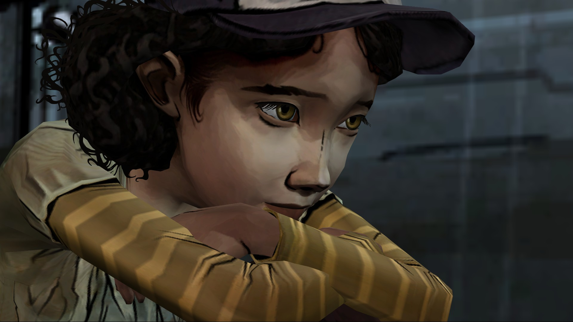 A Better Look At Clementines New Outfit Thewalkingdeadgame