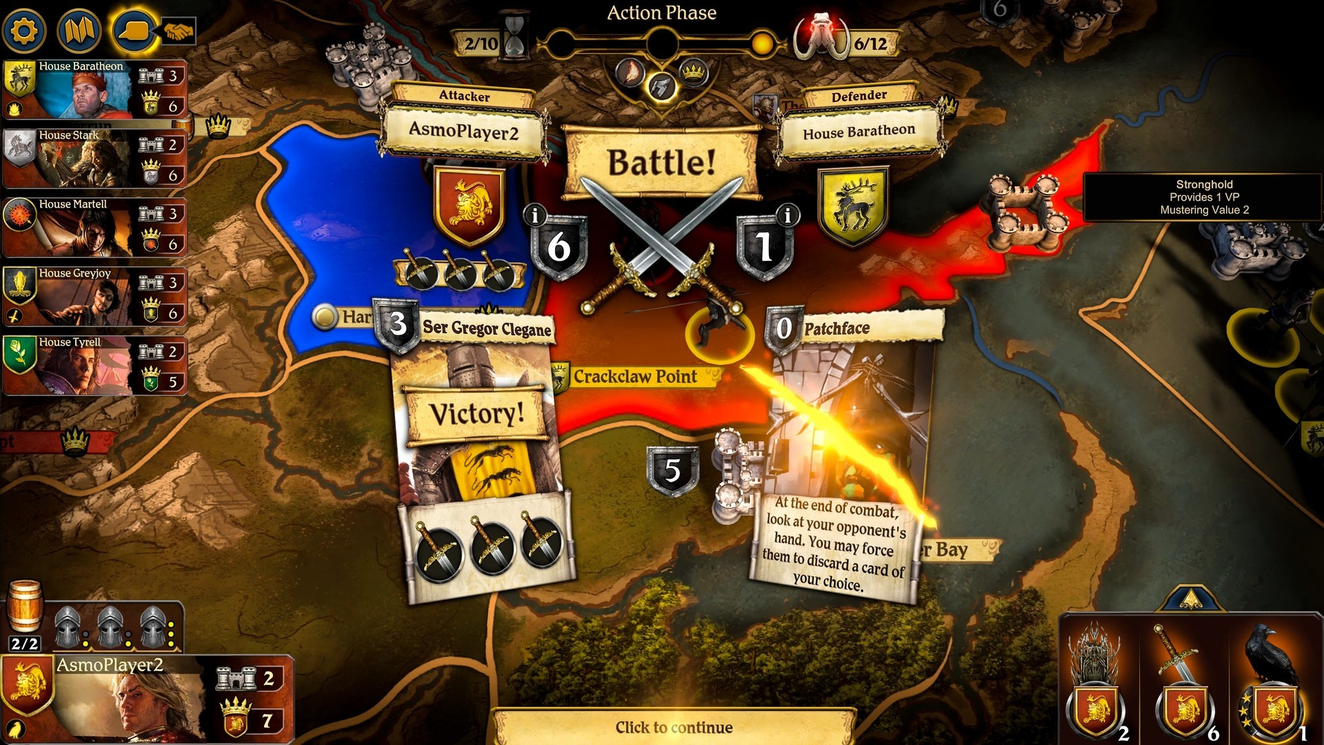 The Game of Thrones board game is coming to PC later this year