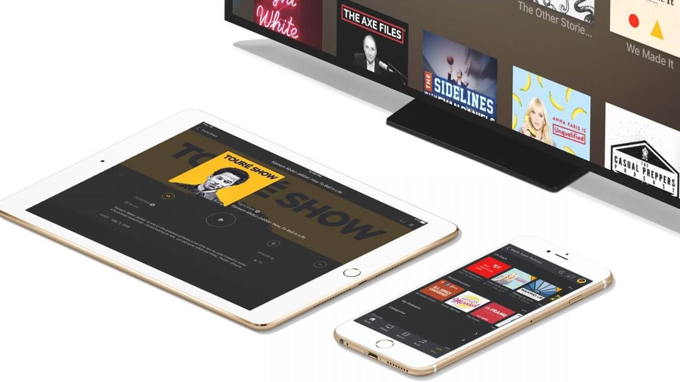 A photo of mobile devices using Plex