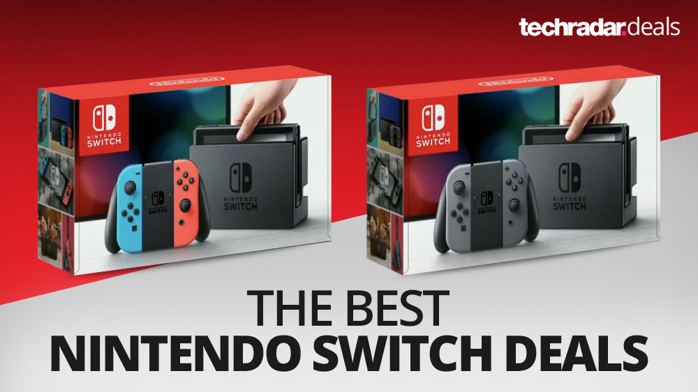 The cheapest Nintendo Switch bundles and deal prices in the March sales 2019